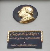 Gedenktafel in Oberholzheim