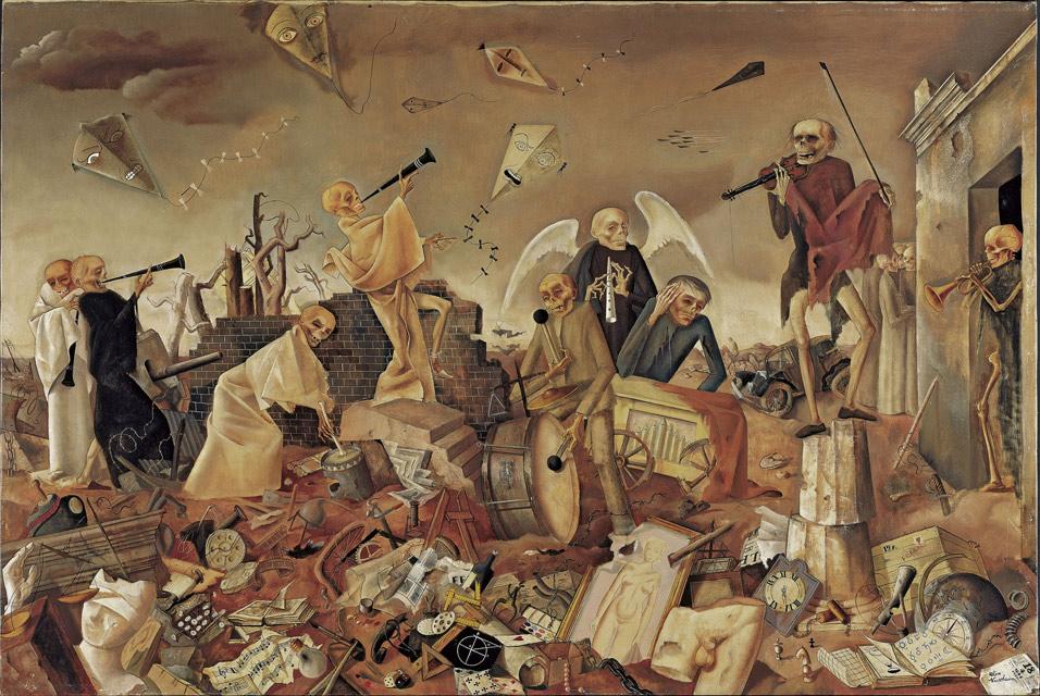 'Triumph_des_Todes_(Die_Gerippe_spielen_zum_Tanz)',_1944_by_Felix_Nussbaum
